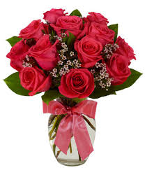 hot pink roses hot pink bouquet at from you flowers