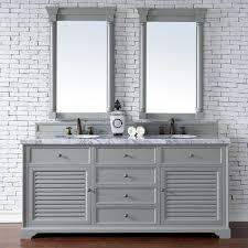 bathroom vanity cabinet no top abstron 72 inch double sink bathroom vanity cottage grey finish no top