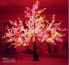 2017 2m height led outdoor lighted maple tree from goodsoft