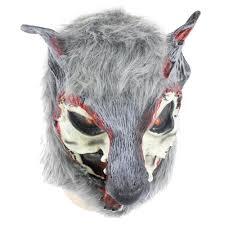 halloween wolf costume aliexpress com buy new creative halloween wolf mask latex
