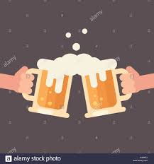 beer cheers cartoon beer mugs cheers stock photos u0026 beer mugs cheers stock images alamy