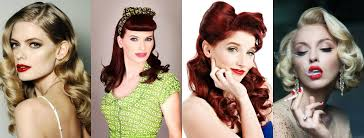 pinup clip in ponytail with bangs to create the perfect pin up hair