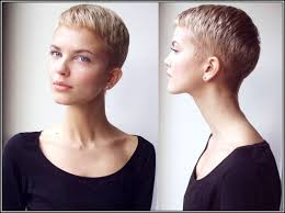 Short Shaved Hairstyles For Girls by Womens Short Hair With Shaved Side Side Flat Twists Back To