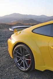 Porsche 911 Yellow - yellow porsche 911 stinger by topcar hits marbella autoevolution