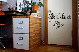 Metal Filing Cabinet Makeover How To Paint Filing Cabinets With Metal Cabinet Makeover Painted