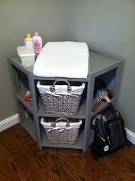 rolling baby changing table amazing corner baby changing table within dresser euro screens