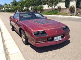 1988 iroc camaro california 1988 camaro iroc z z28 for sale reduced to 8 700