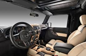 yellow jeep interior passing through the hands of the bulgarian custom studio vilner