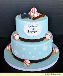 lil u0027 slugger baseball baby shower cake the hudson cakery