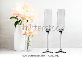 Wine Glass Flower Vase Floral Mockup 1 Wine Glass Next Stock Photo 702092782 Shutterstock