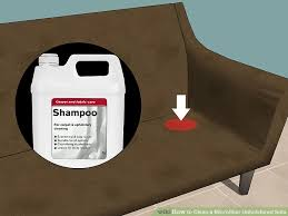 What Is The Best Upholstery Cleaner For Sofas The Best Ways To Clean A Microfiber Upholstered Sofa Wikihow
