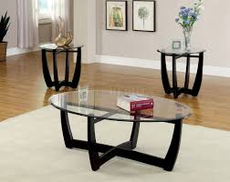 Black Bear Coffee Table Oval Coffee Table And End Tables Furniture Industrial With Round