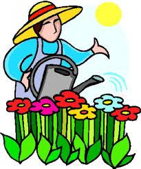 Club Summer Garden - late summer garden clipart clipground