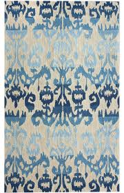 Ikat Area Rug Awesome Rugs Lowes Area Vintage And Blue Ikat Rug In Modern