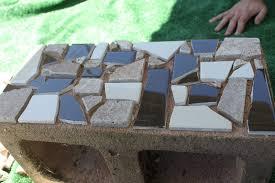 furniture cinder block bench concrete block stairs cinder