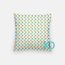 mint heart pillow sea green pillow cover love design pillow case