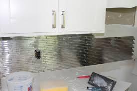 kitchen backsplashes home depot marvelous stainless steel tile backsplash home depot 46 with