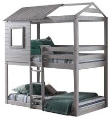 Bunk Bed House Cbell S Clubhouse Bunk Bed Transitional Bunk Beds By