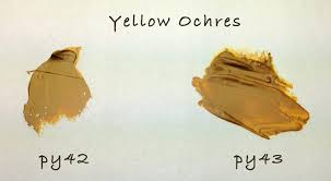 finding the perfect yellow ochre helloartsy