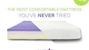 Most Comfortable Matress Purple The Latest Technology In Comfort And Sleep By Tony Pearce