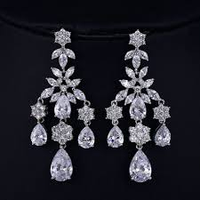 chandeliers earrings chandeliers cheap long crystal chandeliers bridal chandelier