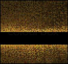 multicolor abstract lights gold disco background square pixel