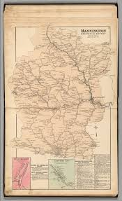 Map Of Virginia And West Virginia by Mannington Magisterial District Marion County West Virginia
