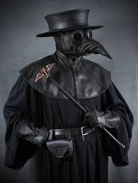 plague doctor hat jackdaw leather plague doctor mask