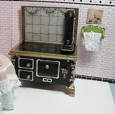 Dollhouse Furniture Kitchen Best Deals On Dollhouse Kitchen Stove Shopping123 Com