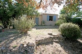 for sale in luberon one storey house located on a wooded plot of