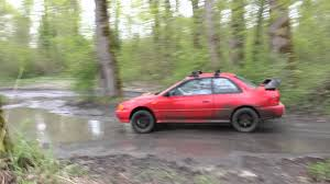 raised subaru impreza subaru impreza coupe off road youtube
