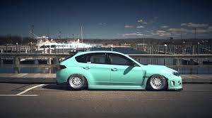 stancenation wallpaper subaru phenomenal vinyl matte mint green sti youtube