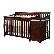 Convertible Crib Changer by Blankets U0026 Swaddlings Convertible Crib Attached Changing Table