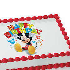 mickey mouse cake mickey mouse edible image cake decoration