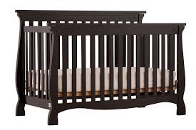 Black 4 In 1 Convertible Crib Stork Craft Carrara 4 In 1 Fixed Side Convertible