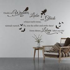 wandtattoo wohnzimmer sprüche deko wandtattoos wandbilder mit sprüche redewendungen ebay