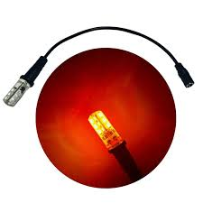 12 volt red led lights ember orange led flame lights prop scenery lights