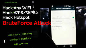how to hack any wifi password using wibr wifi bruteforce