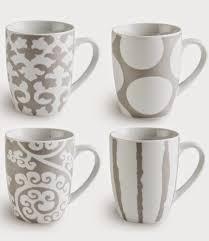 Porcelain Coffee Mugs by Treasures By Brenda 31 Days Of Coffee Mugs Gray Grey Or Beige