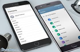 transfer contacts android how to transfer contacts from android to iphone three methods