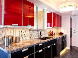 bathroom interesting alluring wooden red kitchen cabinets above