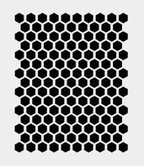 honeycomb beehive stencil bee bees stencils template templates