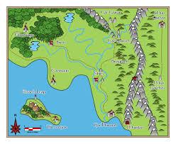 Cartoon World Map by Profantasy Community Forum Whimsical Cartoon Map