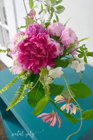Cut Flower Garden by Asymmetrical Garden Flower Arrangement
