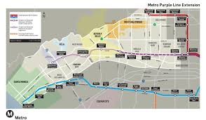 Rent Control Los Angeles Map by Purple Line Extension Project
