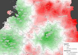How To Map A Drive Isochrone Map Wikipedia