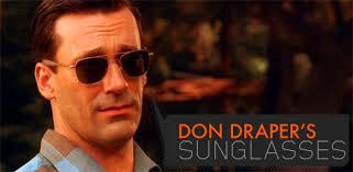 Don Drape Don Draper U0027s Sunglasses Primer