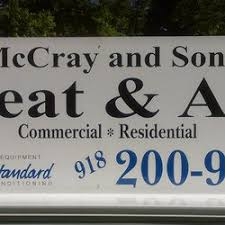 Air Comfort Solutions Tulsa Ok Mccray And Sons Heat And Air Heating U0026 Air Conditioning Hvac