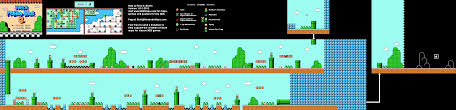Super Mario World Map by Super Mario Bros 3 World 5 3 Map Png V1 0 Neoseeker Walkthroughs