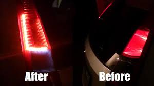 fiber optic tail lights diy led tail lights conversion youtube